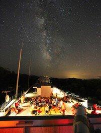 ペルセウス座流星群観望会