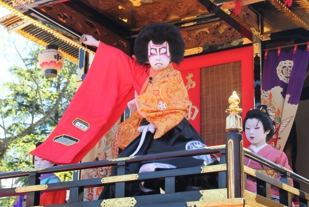 出町子供歌舞伎曳山祭