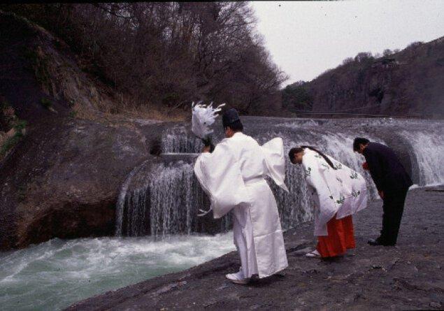 吹割の滝開き並びに安全祈願祭