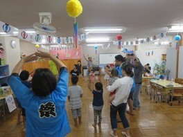 江戸川区NPO法人ぱお 夏祭り