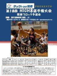 ネッツトヨタ湘南PRESENTS 第18回HIGH8選手権大会 関東ブロック予選会
