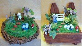 「リーガロイヤルホテルで夏を楽しもう!」動物のいる箱庭を作ろう