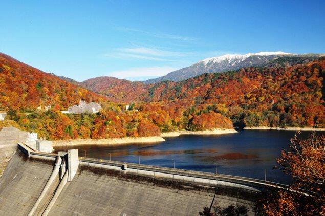 有峰森林文化村(有峰森林文化公園)の紅葉