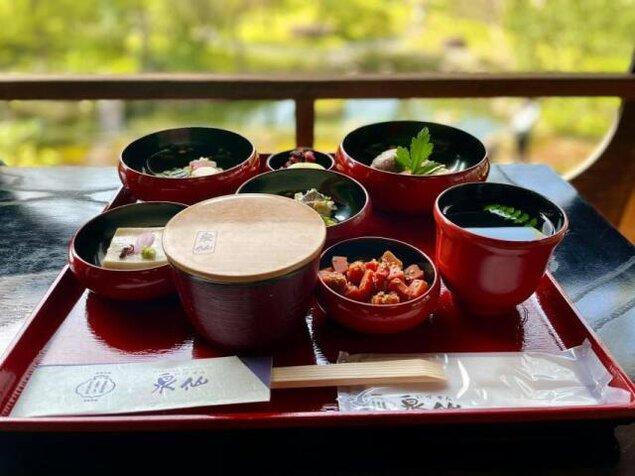 旧三井家下鴨別邸 春の朝食プラン