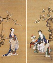 仙台の近世絵画-対幅と一双屏風-