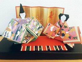 紙のひな人形作り~大人の工作教室~