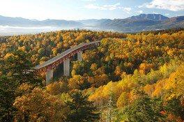 三国峠~糠平湖の紅葉
