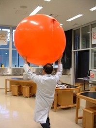 科学実験工房サイエンスショー「空気のチカラ」