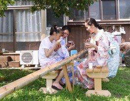 着物で楽しむ日本の三大文化4 大月かがり火祭り