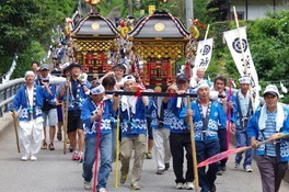 鞍岡祇園神社夏季例大祭(ぎおんさん)