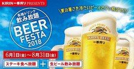 BEER FESTA 2018 屋上ビアガーデン(京都市)