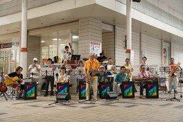 米子市文化ホールFeelおでかけ事業「まちジャズ」