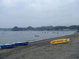 【海水浴】多田良海水浴場