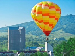熱気球(係留)フライト体験
