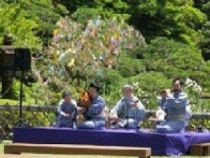 旧芝離宮恩賜庭園「新緑の演奏会」