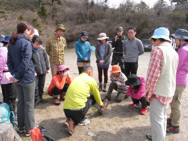 人気登山ガイド智さんと行く春のチャレンジ登山 東赤石山・八巻山