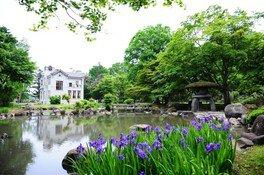 国指定名勝「旧池田氏庭園」常時公開