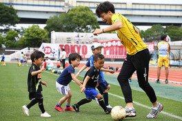 東京23FC選手とふれあい大運動会