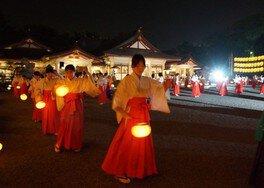 広島護国神社 万灯みたま祭