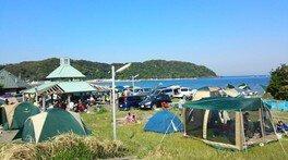多田良北浜キャンプ場オープン