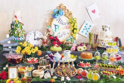 アリスのフラワーティーパーティー ~ティースイーツコレクション~