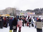 大湯温泉雪まつり
