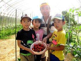 農業と手作り料理に挑戦!畑の楽校キャンプ:ネイチャーキッズ(夏休み・2泊3日)