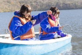 赤城大沼 ワカサギボート釣り