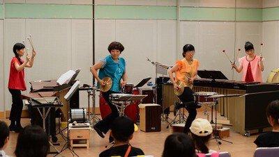 長岡京芸術劇場~世界をめぐる打楽器の音楽~「打楽器アンサンブルコンサート」