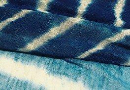 おふろcafe bijinyuワークショップ ジャパンブルー藍染めストールづくり