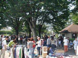 「世田谷公園」フリーマーケット(9月)
