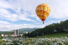 ルスツリゾート 熱気球フライト体験(係留)