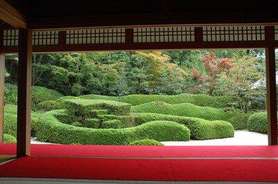 大池寺の紅葉