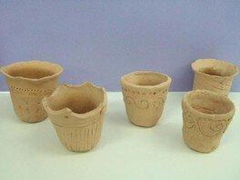 夏休み博物館その2 ミニ土器焼き作り体験
