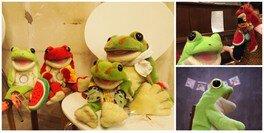 カエルのパペット楽器「コケロミン」マスター講座(8月)