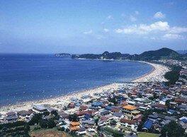 【海水浴】岩井海水浴場