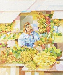 絵画展 口と足で表現する世界の芸術家たち(桑名)