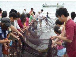 地引網と海鮮バーベキュー(9月)