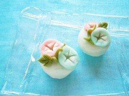 手しごとワークショップ ~朝顔の和菓子~