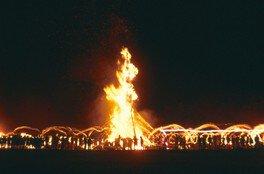 能登島向田の火祭り<中止となりました>
