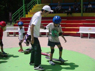 あそびの学校「スポーツで遊ぼう~スケートボード体験教室~」