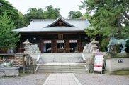 菅生石部神社 初詣