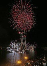 【2020年開催なし】第16回釧路大漁どんぱく花火大会