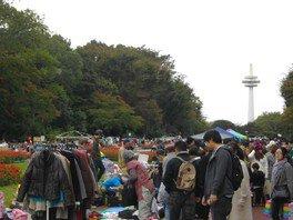 所沢航空記念公園フリーマーケット(8月)