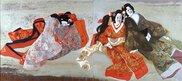 館蔵 日本画 伝統芸能と音色の響き