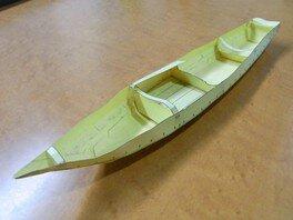 ペーパークラフトで海苔とり舟をつくろう