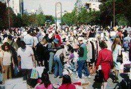 錦糸町イベント広場フリーマーケット(8月)