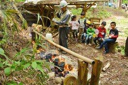 平成30年度 みちのく公園里山地区 森の楽校(8月)