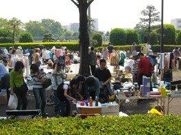 朝霞中央公園 フリーマーケット