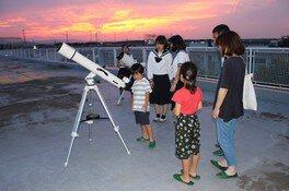 埼玉県立松山女子高校地学部 公開講座「夏の夜空を観察しよう」<中止となりました>